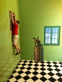 """Hanging out"" at Art in Paradise, Chiang Mai's 3-D art museum"