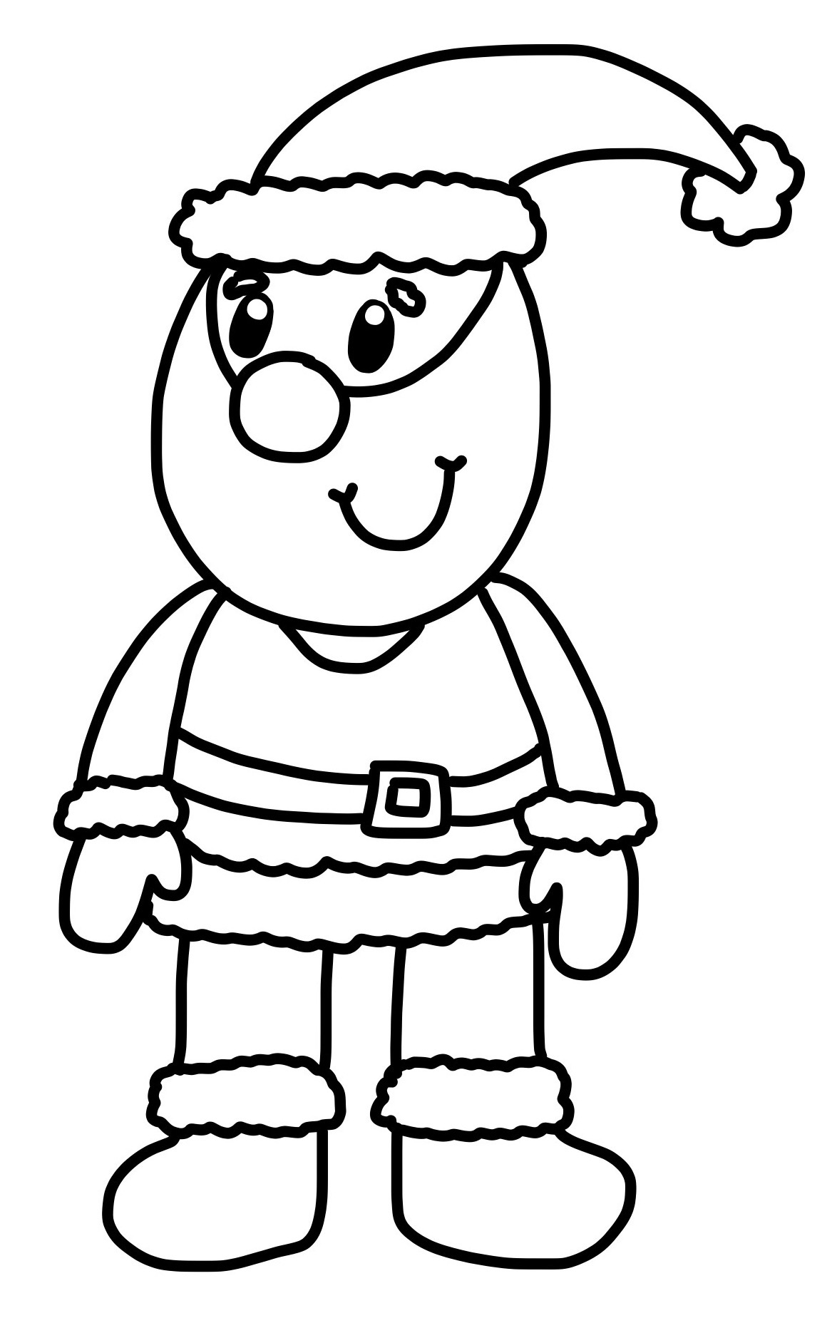 How to: Draw a Cartoon Father Christmas and COMPETITION