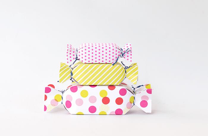Cajas Caramelos. Semana de la Dulzura por Hannah Creates