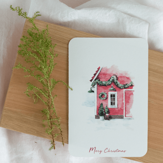 Postales Navidad by Hannah Creates 001