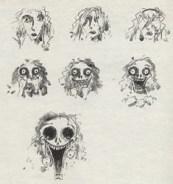 (Tim Burton original sketch)