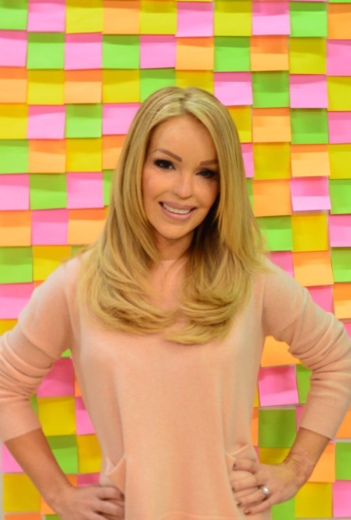 Katie Piper Post-it Wall 2