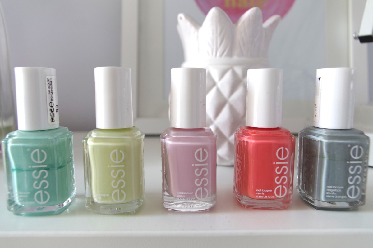 The 5 Essie Nail Shades You Need In Your Life This Summer