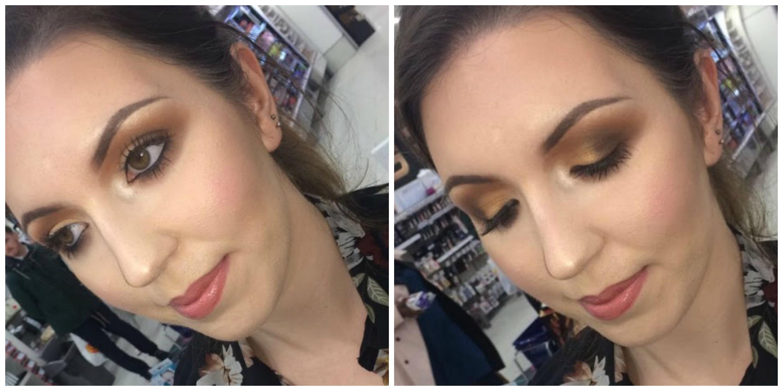 NYX Autumn makeup look