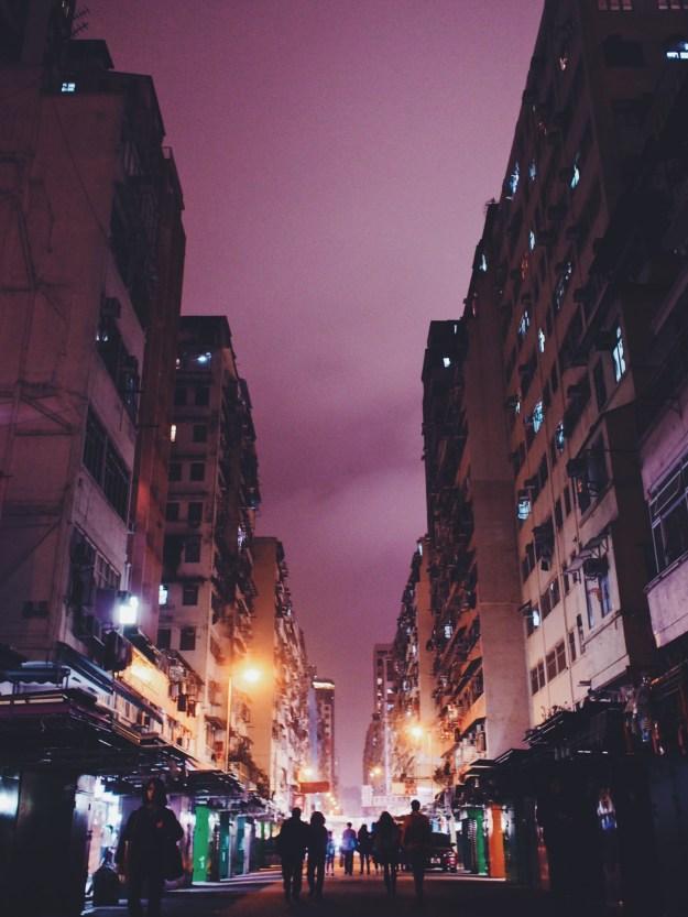 Fa Yuen Street Markets Packing Up