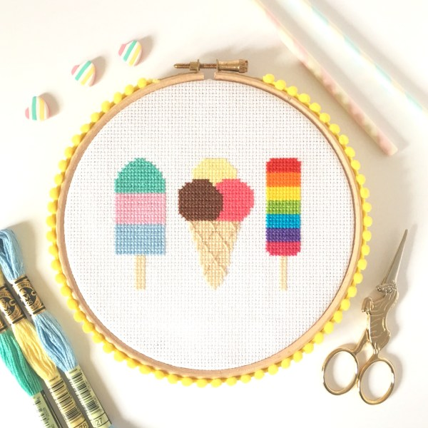 ice-cream-cross-stitch-hoop