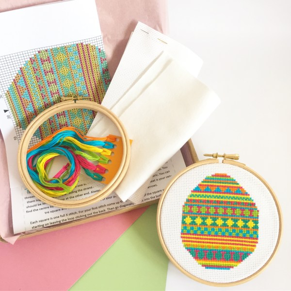 easter-egg-cross-stitch-kit-supplies