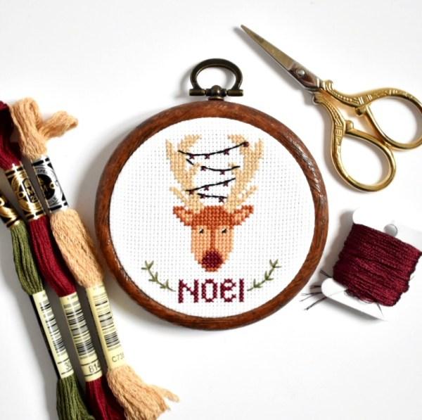 christmas-reindeer-cross-stitch-kit