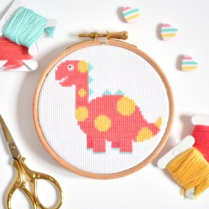 pink-dinosaur-cross-stitch-hoop