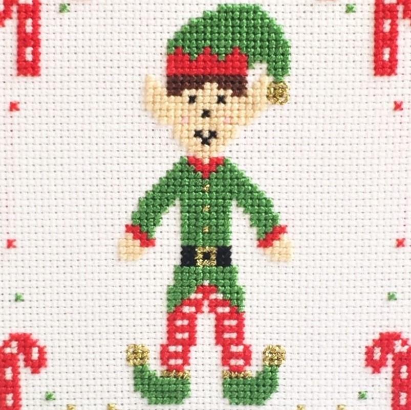 christmas-elf-cross-stitch-close-up