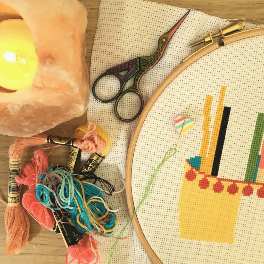 cross-stitch-flat-lay