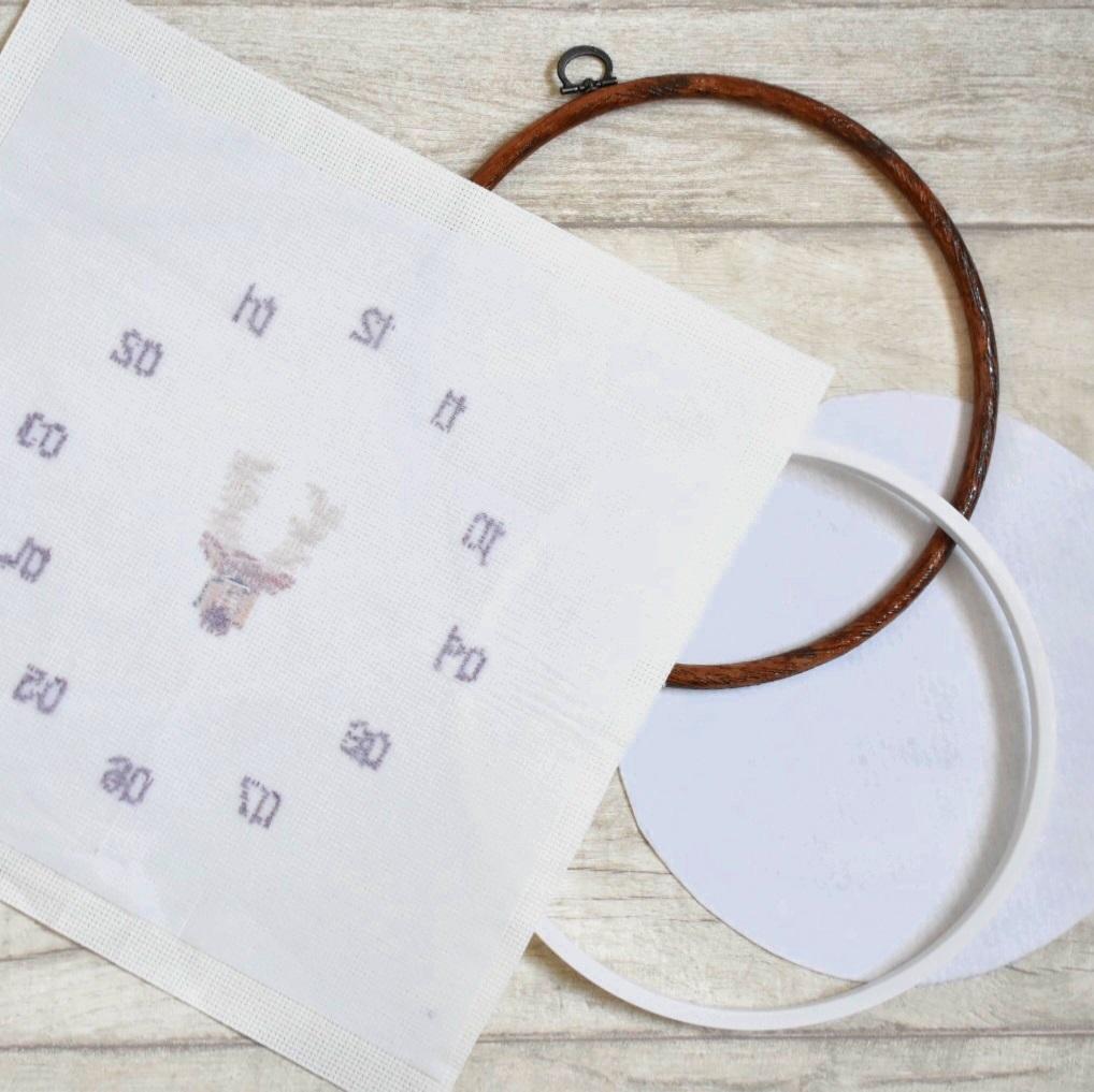 cross-stitch-clock-tutorial-iron-on-interfacing