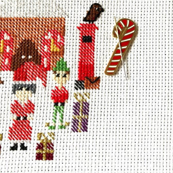 christmas candycane needle minder