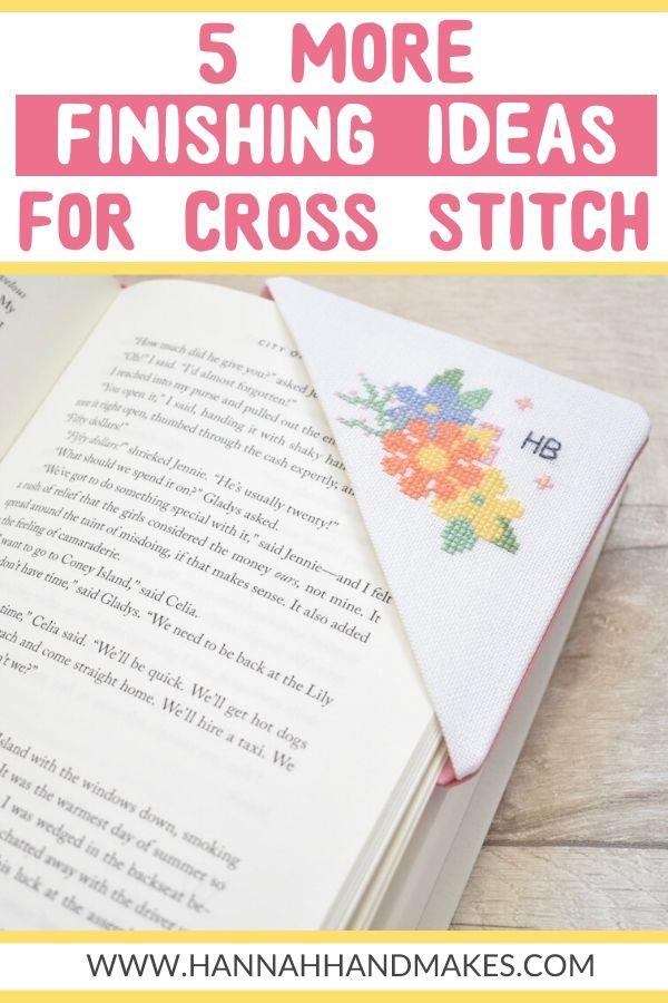 5 More Finishing Ideas for Your Cross Stitch Project pin