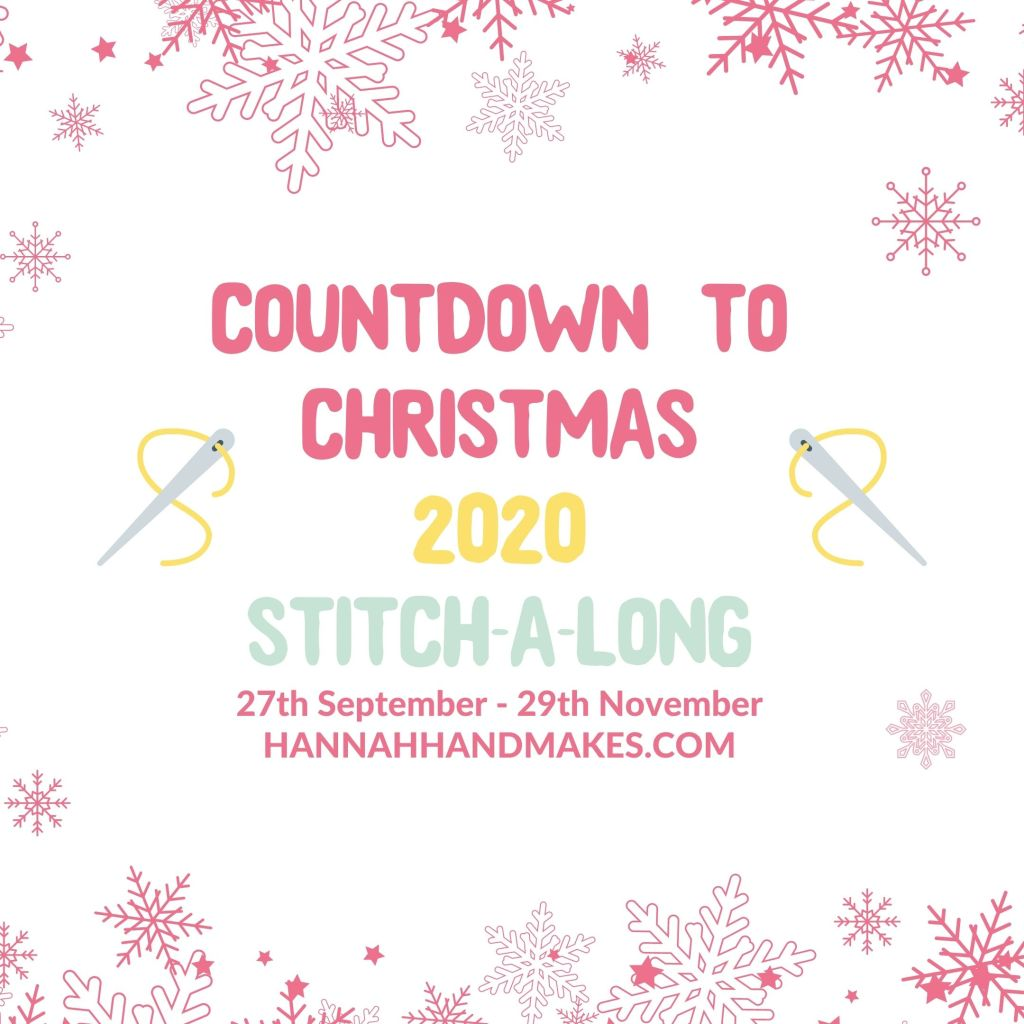 Countdown To Christmas Cross Stitch-a-Long 2020 GRAPHIC