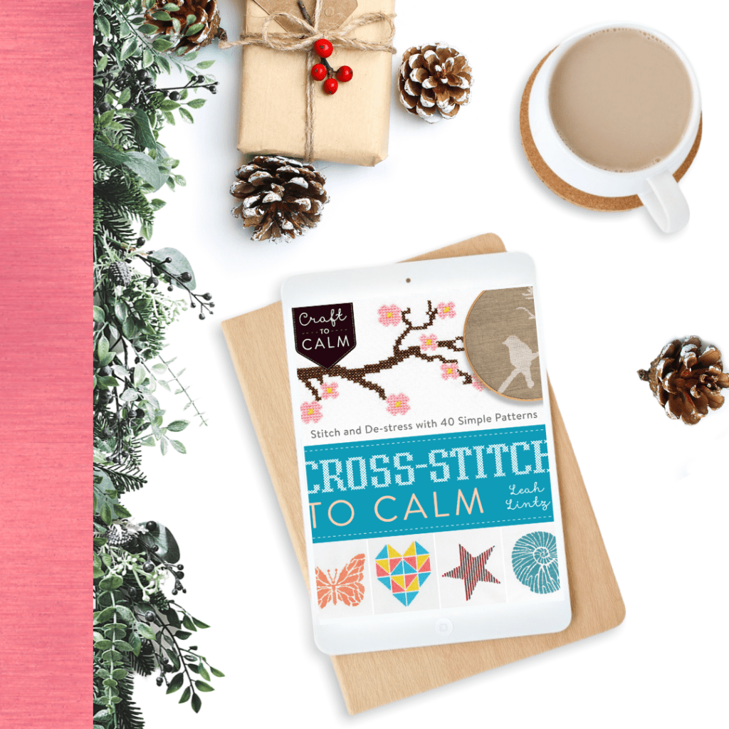 8 Cross stitch books you can gift this Christmas by Hannah Hand Makes