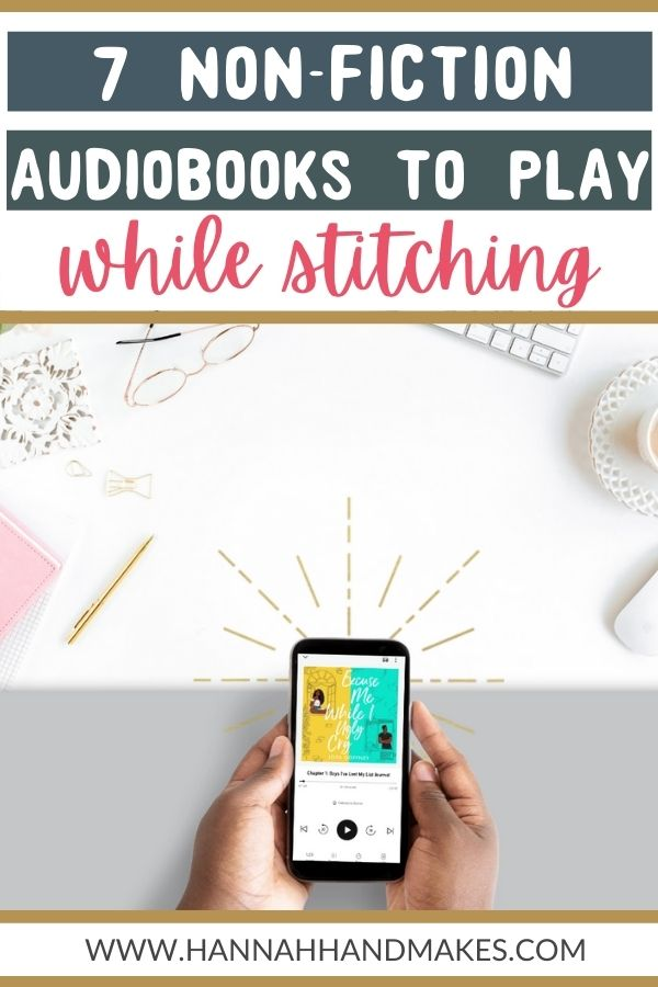 7 non-fiction audiobooks to listen to when stitching