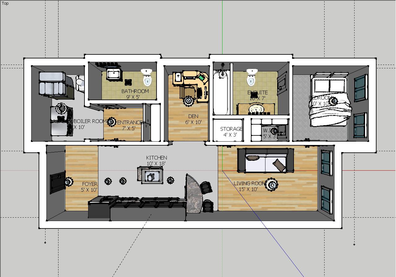 Condominium Floor Plan Design Hannah S Online Portfolio