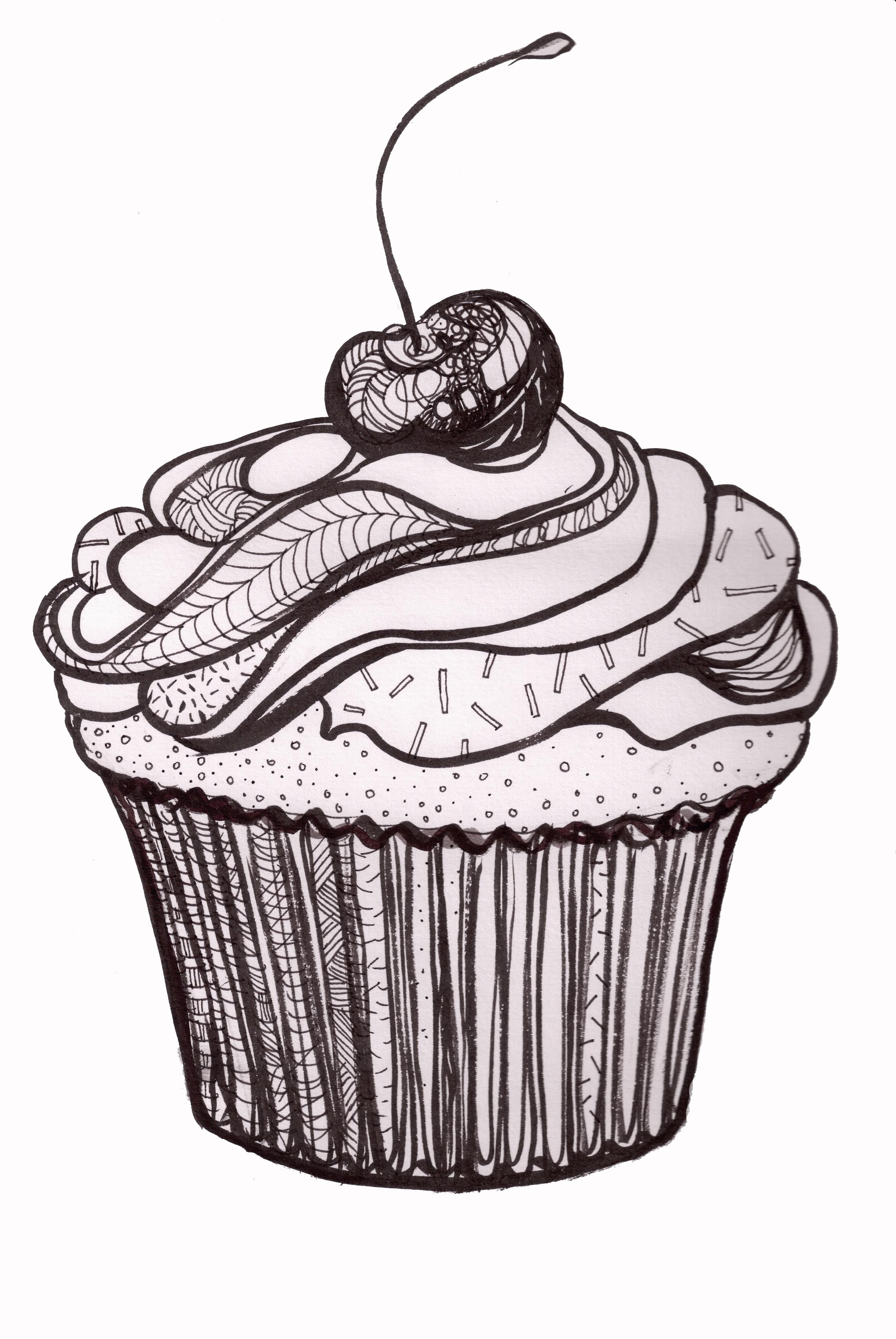 Illustration Friday  Dessert