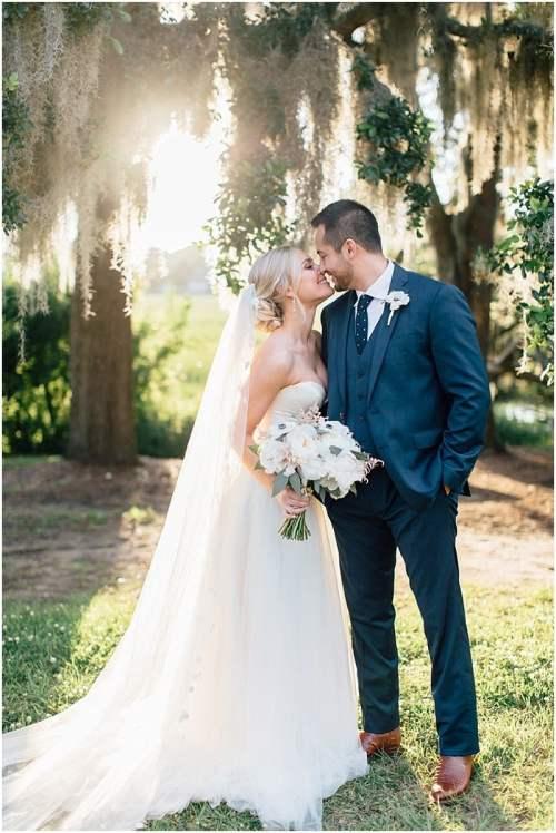 Jaison and Emily's Wedding Day Sneak Peak | Boone Hall Plantation Wedding