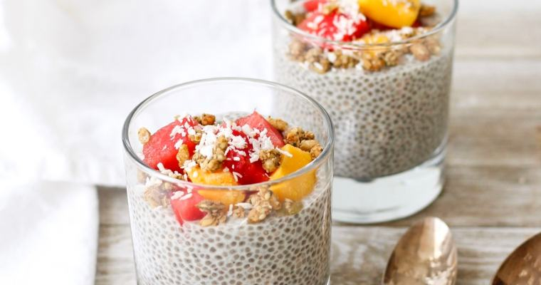 Easy Vanilla Chia Pudding