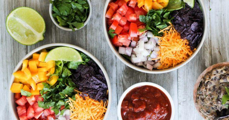 Vegetarian Taco Salads