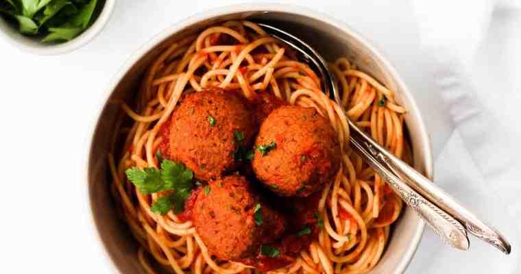 Easy Lentil Meatballs (Vegan)