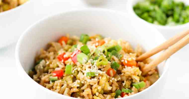 Healthy Vegetarian Fried Rice