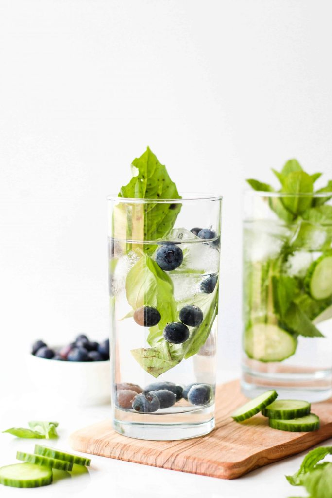 Some hydrating, healthy drink ideas from a Registered Dietitian to help you quench your thirst and feel your best in the summer heat.