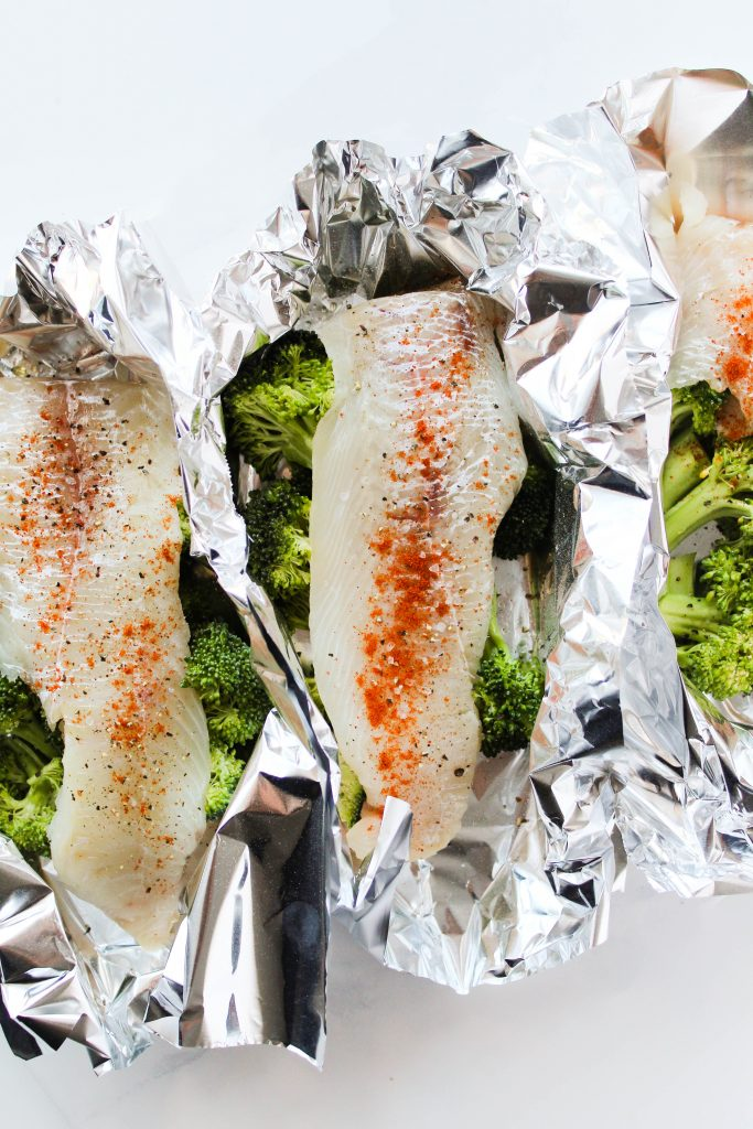 How to make foil packet fish