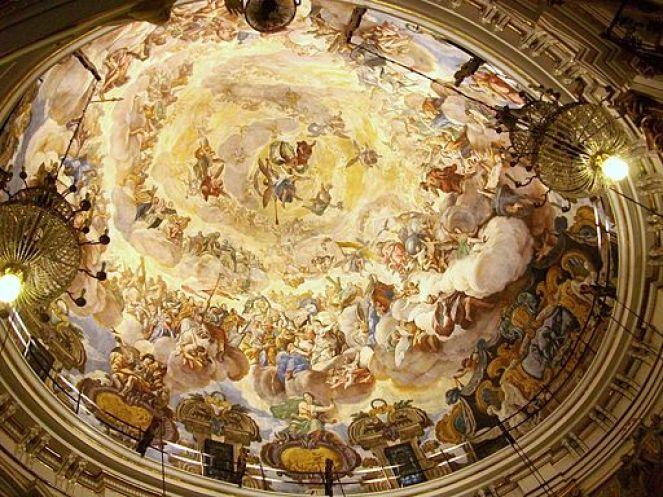 Cupola Basilica de la Virgin de los Desamparados