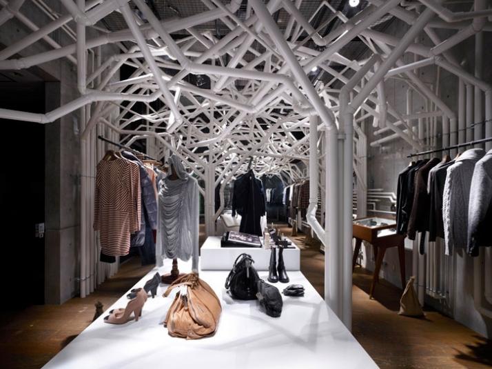 pvc lounge chair folding gumtree retail design: diesel denim gallery installation | masters design