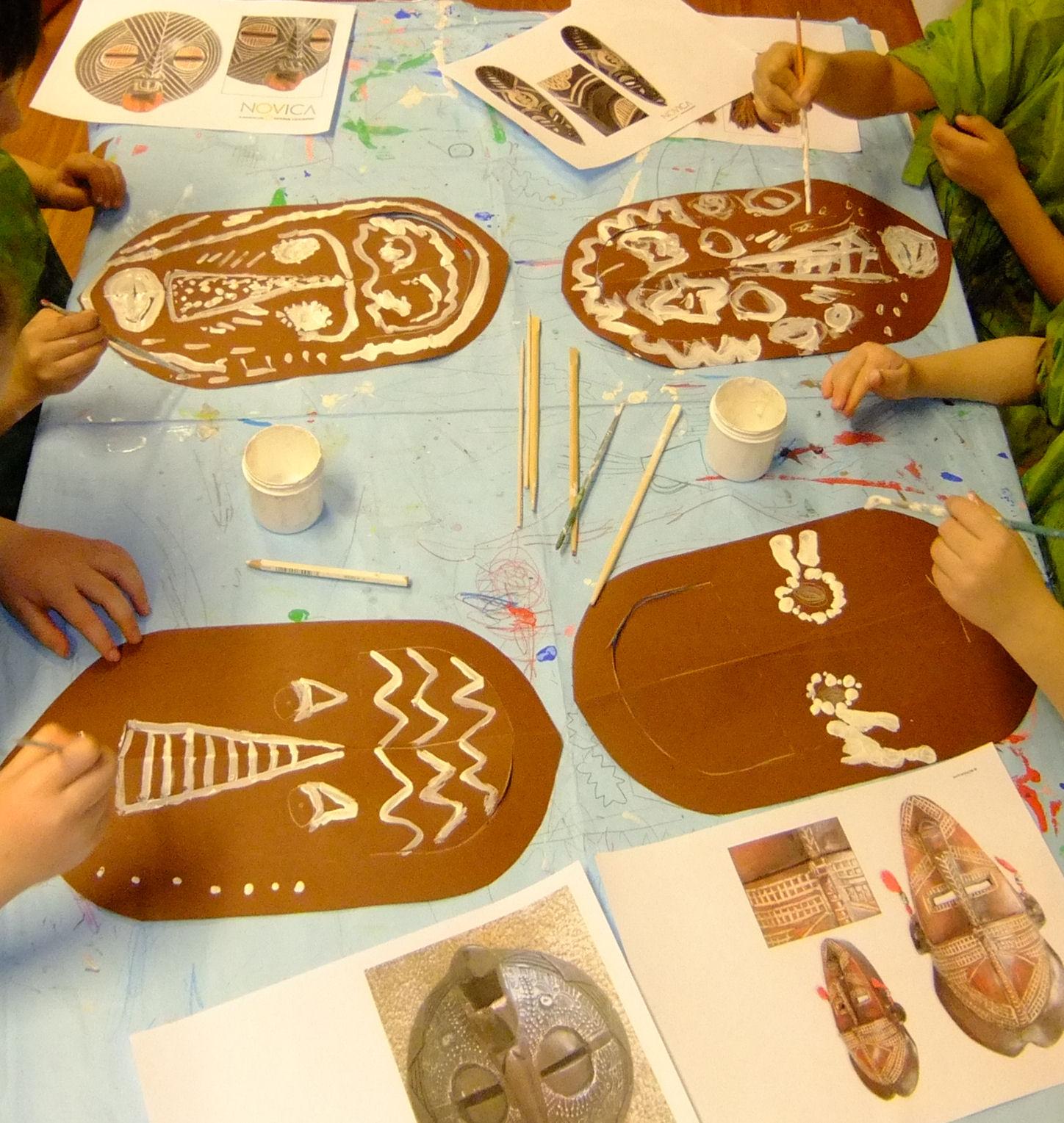 Kenya Crafts For Kids