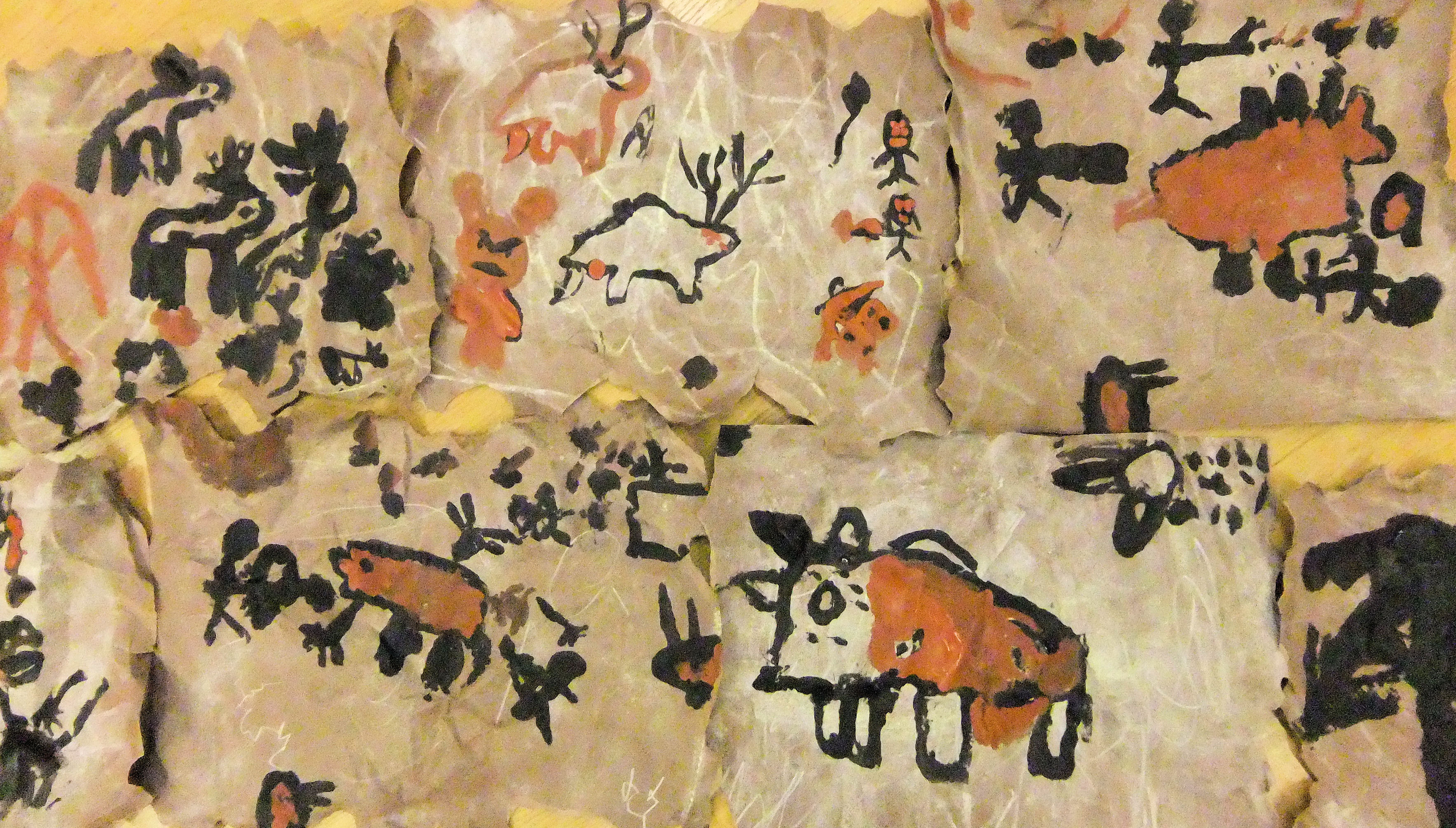 Cave Paintings Of Early Man