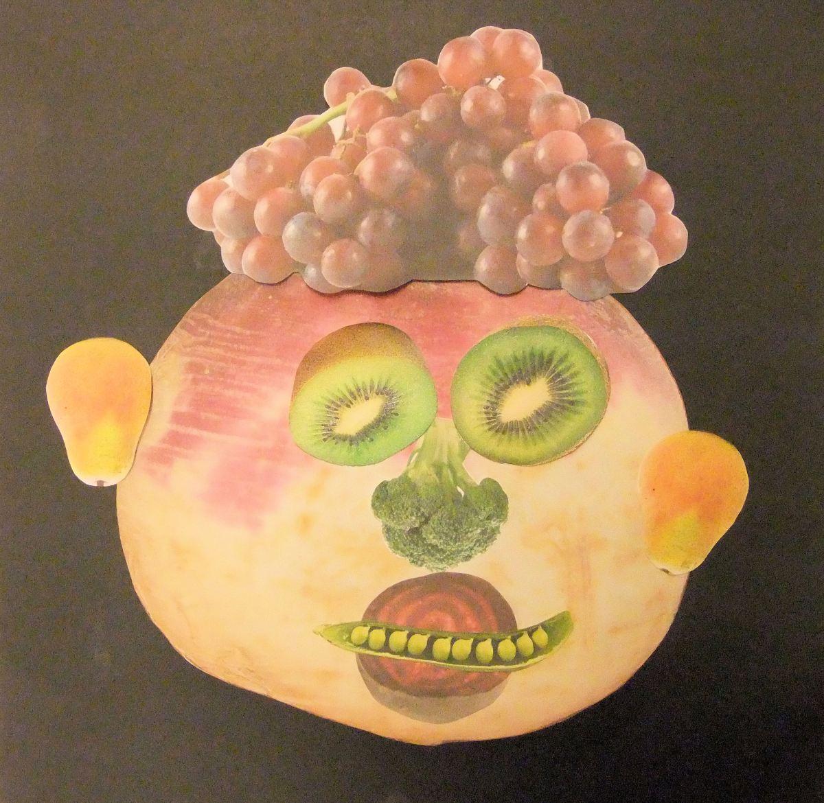 Fruit And Vegetable Faces Inspired Arcimboldo November 2013 Hannah' Art Club