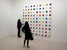 Damien Hirst, Gagosian Gallery, Paris, 2012