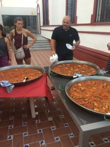 We ate 3 different types of Paella the first week, chicken, veggie and traditional with shellfish