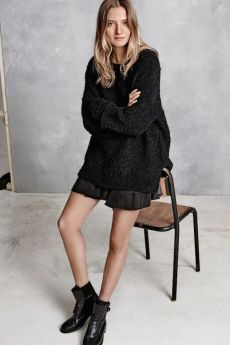 Le-Fashion-Blog-Hunky-Dory-FW-AW-2105-Lookbook-Curly-Teddy-Knit-Sweater-Pleated-Mini-Skirt-Leather-Combat-Boots