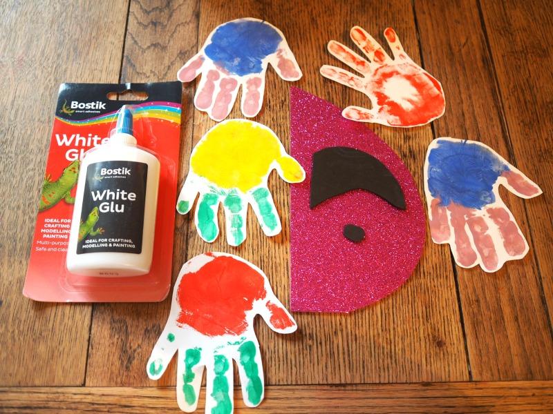 parrot handprints