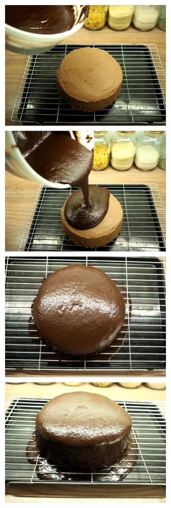 bake off jaffa mirror glaze