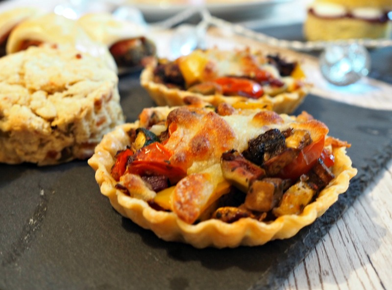 great british bake off final roast vegetable tarts