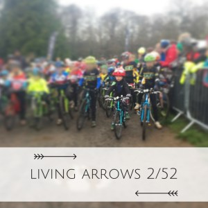 """You are the bows from which your children as living arrows are sent forth"". His first Cyclocross race at 4 years old."
