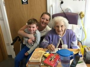 Visiting Great Grandma