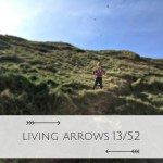 Living Arrows climbing at the beach