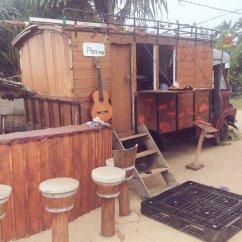 Swing Chair Sri Lanka Fan Back Friendship Beach Bar And Restaurant Hannah