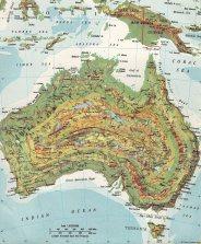 Map Contours 2 (Australia)