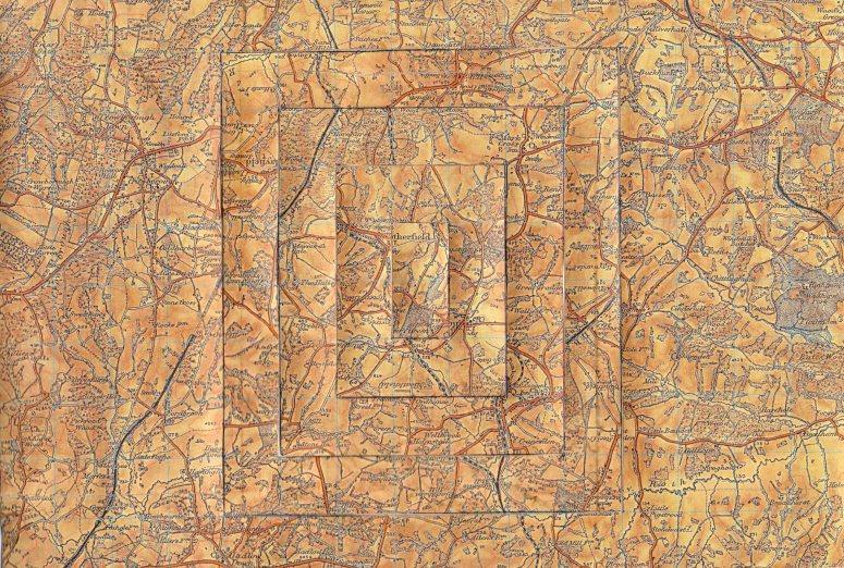 Vintage Map Glitch 7