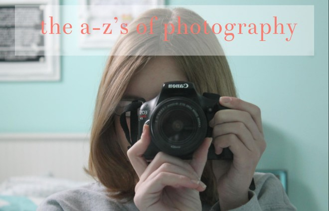 the a-z's of photography