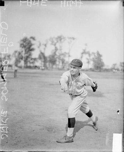 baseball player LANE 1928