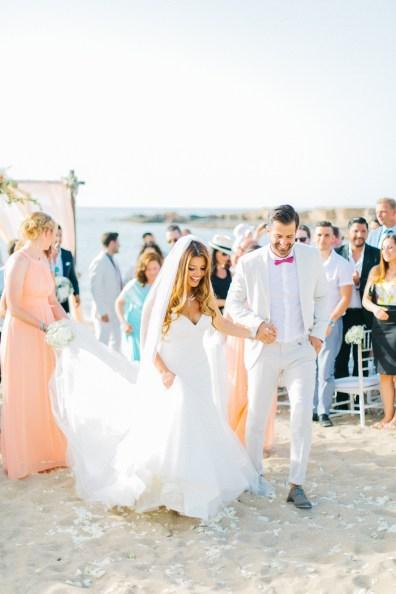 modern luxury wedding in Chania, Crete